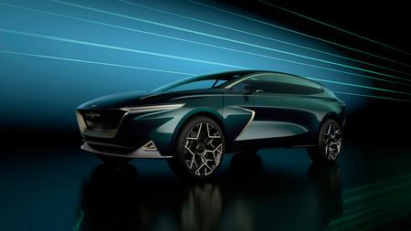 Este All-Terrain Concept anticipa en Ginebra el SUV eléctrico de Lagonda, con una llave que levita y un vanguardista diseño