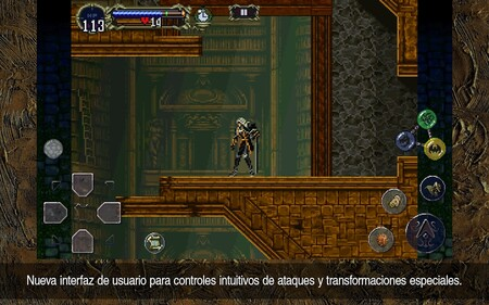 Castlevania: Synphony of the Night en Google Play Store y Apple App Store