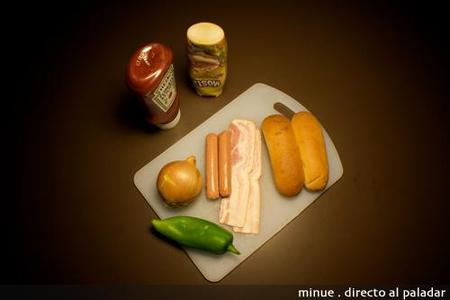 perritos calientes - ingredientes