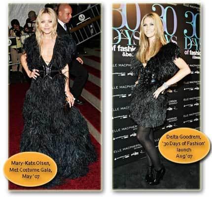 Vestido de Rita Watnick: ¿Mary-Kate o Delta?