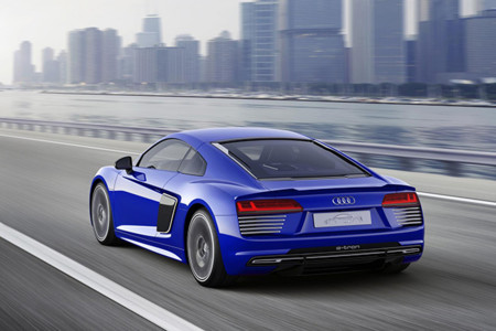 Audi R8 E Tron Piloted Driving Concept 5
