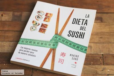 La dieta del sushi. Libro de cocina