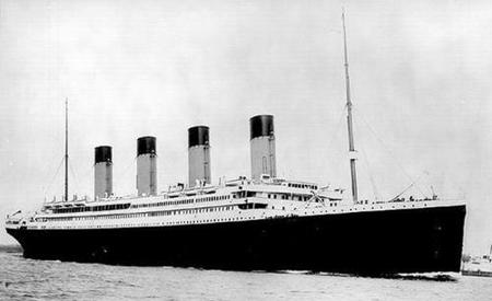 ¿Viajarías en el Titanic?