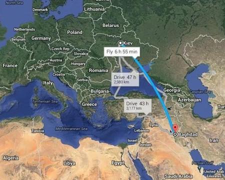 Viaje-Kiev-Bagdad
