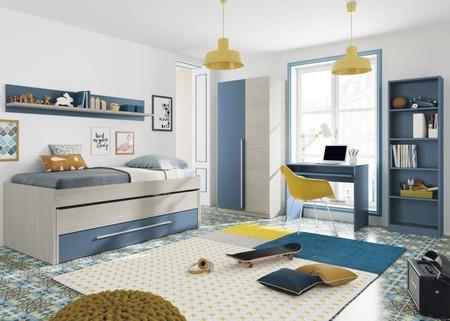 Mesa escritorio con bandeja inferior en varios colores por 45,95 euros y envío gratis en eBay