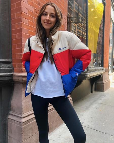 El estilo retro se instala en los plumones y se convierten en las chaquetas del momento