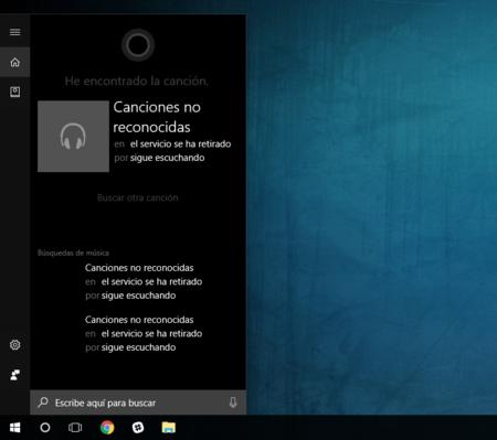 Cortana Ya No Reconoce Musica
