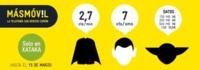 Nueva Tarifa LÍDER de MÁSMÓVIL: habla por 2.7 céntimos el minuto y navega desde 2 euros al mes