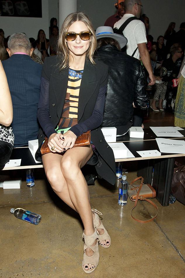 Olivia Palermo con gafas de sol