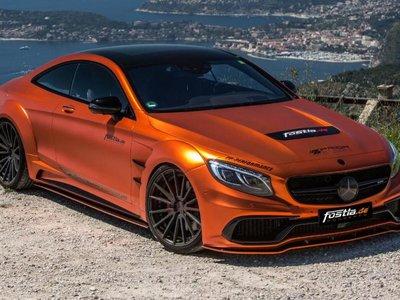 Mercedes-AMG S63 Coupé by Fostla, una conversión que cambia más que la imagen