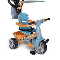 Por sólo 42,57 euros tenemos el triciclo evolutivo Baby Plus Music de Feber en Amazon. Sirve desde los 12 meses hasta los 4 años