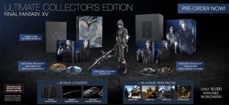 Square Enix anuncia tres ediciones especiales para Final Fantasy XV