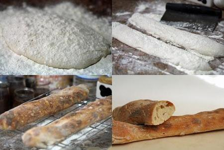 Hacer pan à l´acienne