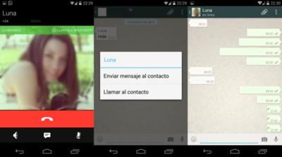 Más detalles e indicios de llamadas desde Whatsapp en su última beta