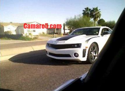¿Un Chevrolet Camaro SS de pruebas?