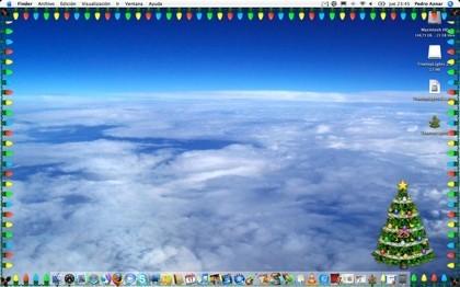 TreeTopLights: Árbol y luces de navidad para tu Mac