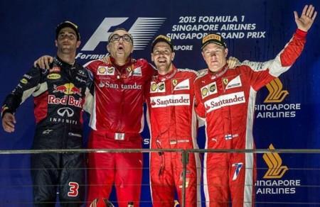 Ferrari y Vettel conquistan el Gran Premio de Singapur