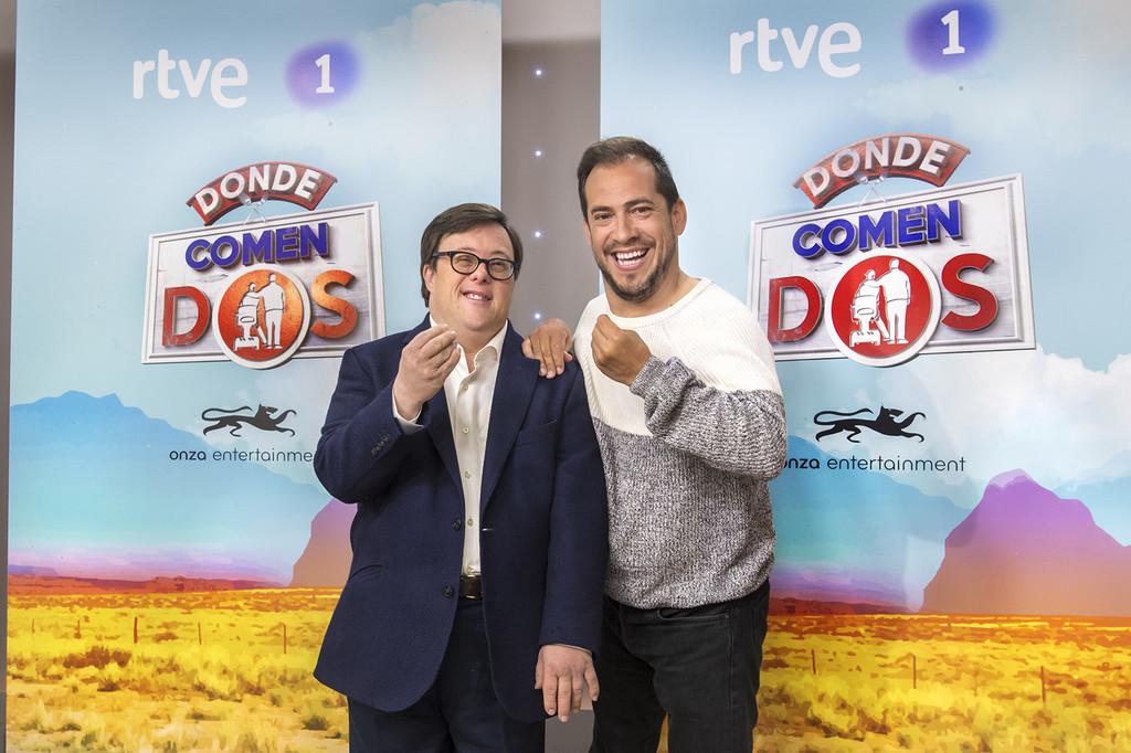 La 1 estrena un nuevo programa de gastronomía y viajes con El Langui y Pablo Pineda de protagonistas