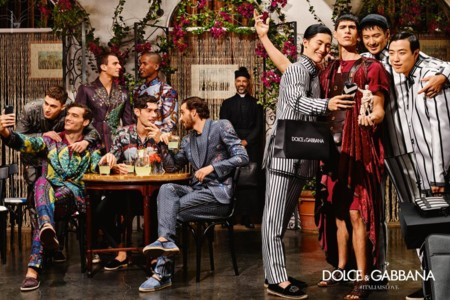 Dolce And Gabbana Spring Summer 2016 Campaign 001