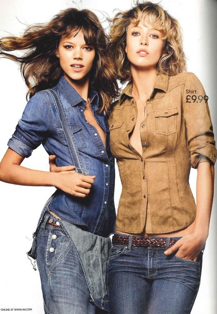 Foto de Campaña H&M Primavera-Verano 2011 con Freja Beha Erichsen y Raquel Zimmermann (1/16)