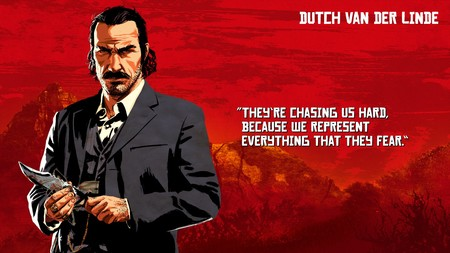 Red Dead Redemption 2 Dutch Van Der Linde