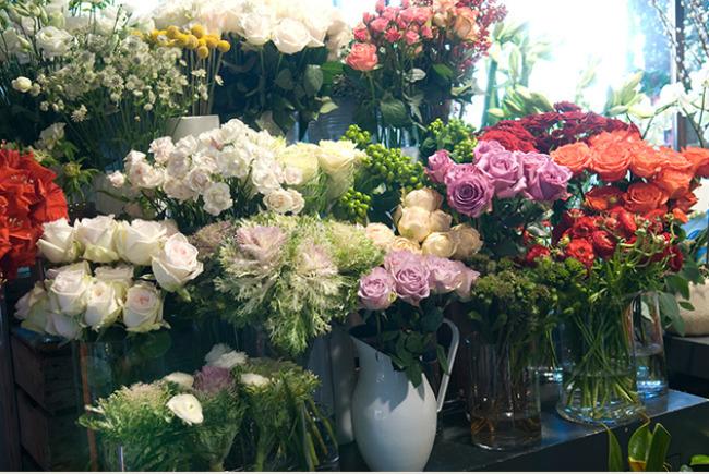 Flores de Sally Hambleton