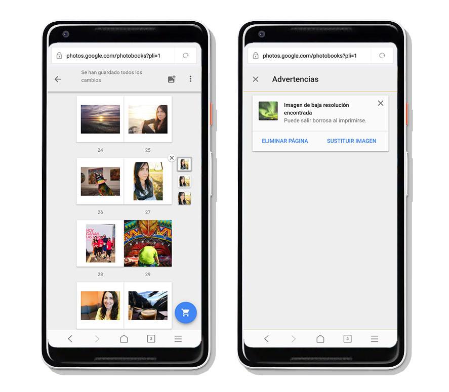 Google Photos Book, web
