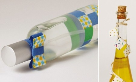 Detalles para tu mesa decorados con washi tape