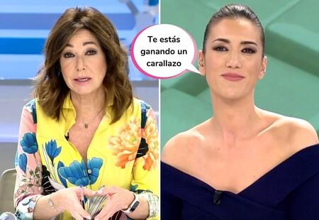 """¡Tensión en plató! La respuesta cortante de Patricia Pardo a Ana Rosa Quintana por reírse del acento gallego: """"No somos tontos"""""""