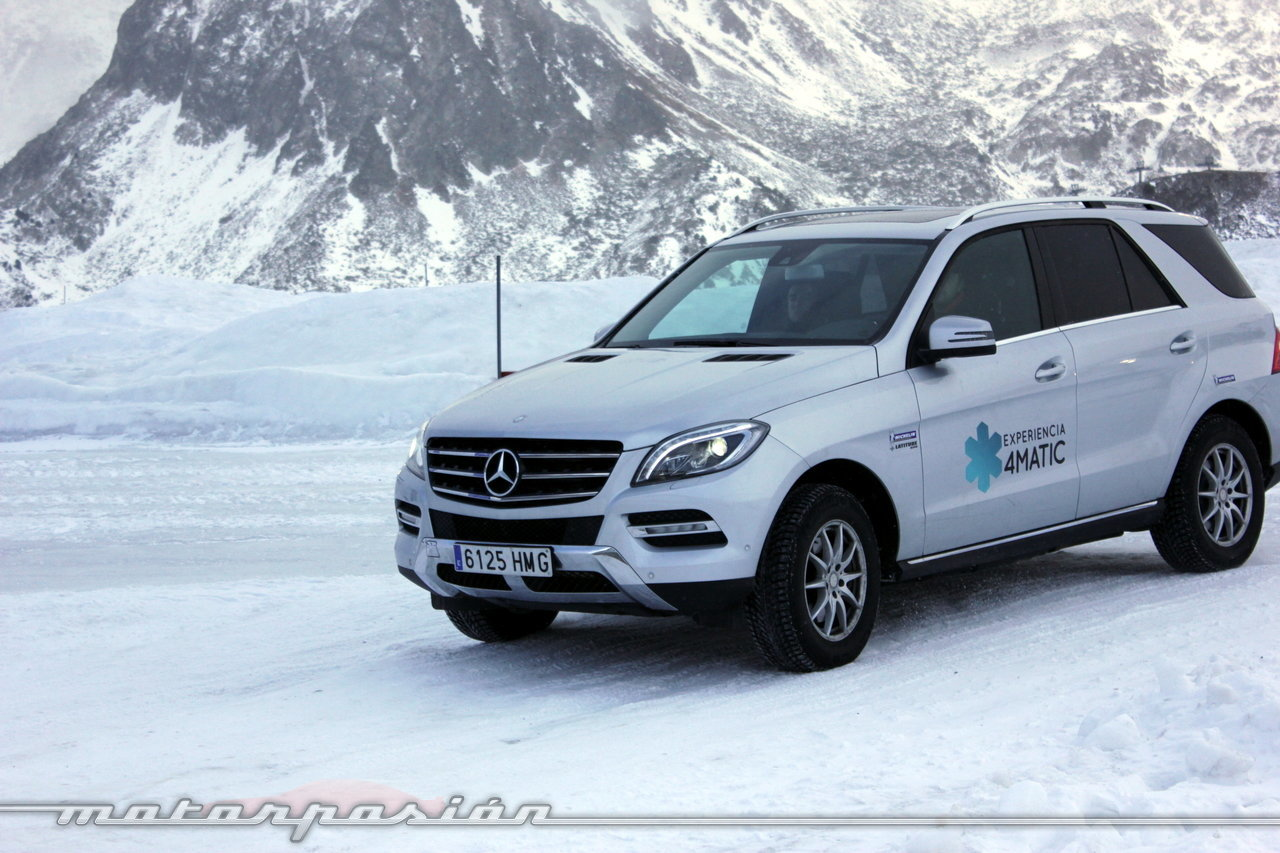 Foto de Michelin Pilot Alpin y Michelin Latitude Alpin, Experiencia 4Matic (16/27)