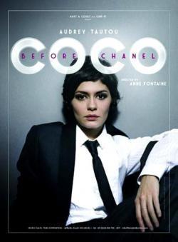"""El poster de Coco Chanel """"la película"""""""