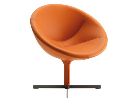 hillroad asiento naranja de zanotta