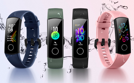Honor Band 5: medición del oxígeno en sangre para la gran rival de la Xiaomi Mi Smart Band 4