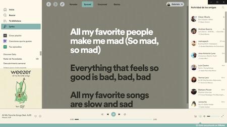 Letras En Spotify 2
