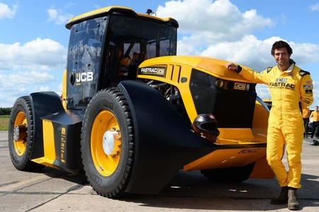 Jcb Fastrac 8000 Williams F1