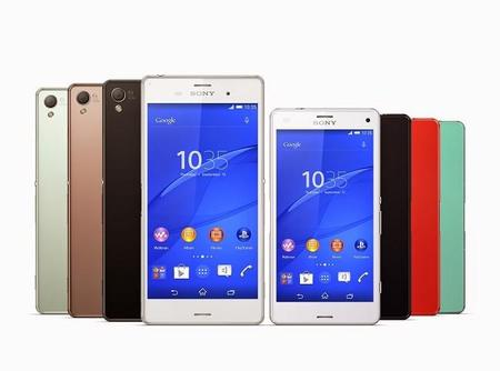 Sony Xperia Z3 y Z3 Compact
