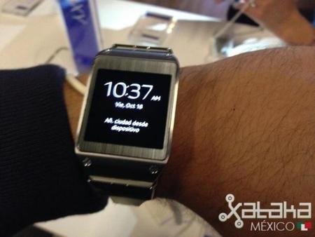 Samsung Galaxy Gear, primer contacto