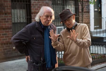 Woody Allen y Vittorio Storaro