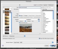Nueva versión de FlickrExport optimizada para Aperture 2.0