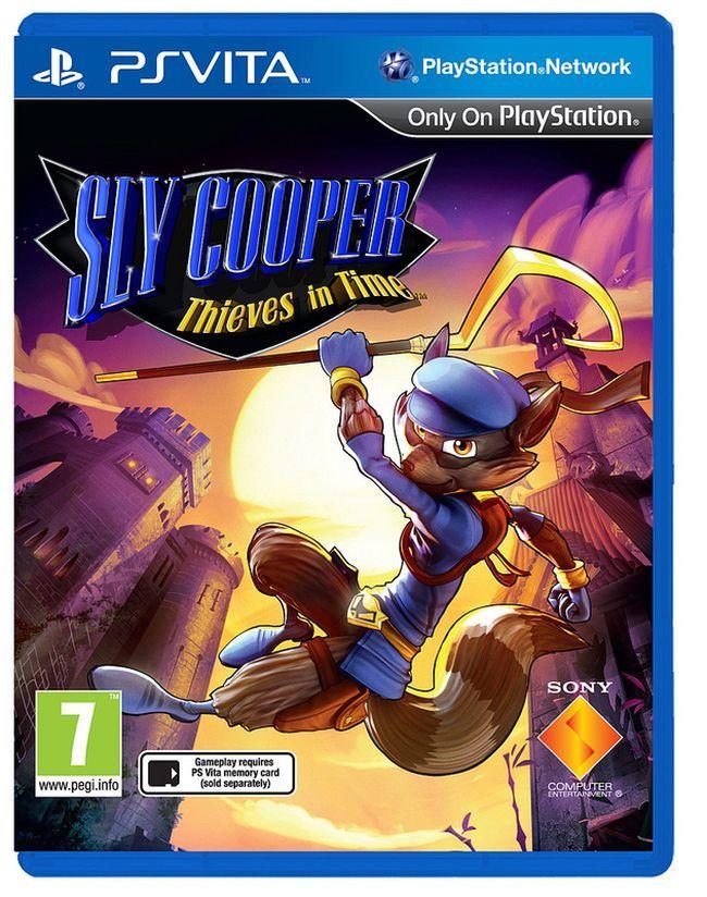 Sly Cooper: Ladrones en el Tiempo (PS Vita)