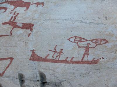 Visita a las pinturas rupestres de Alta en Noruega