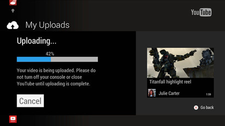 Xbox One permitirá subir vídeos a YouTube mientras Microsoft continúa trabajando en la actualización de abril