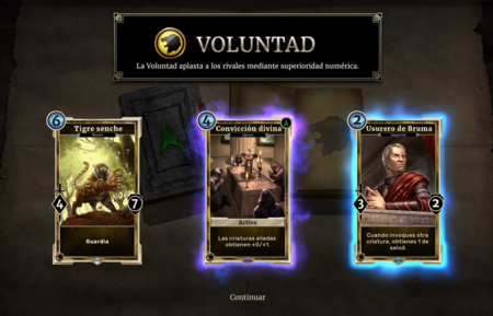 Elder Scrolls Legends Cartas