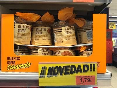 El último éxito de Mercadona se aleja de la moda de lo saludable: las galletas gofre arrasan