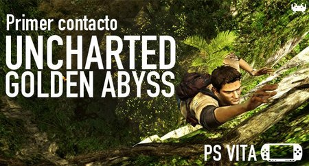 'Uncharted: Golden Abyss' para PS Vita. Primer contacto