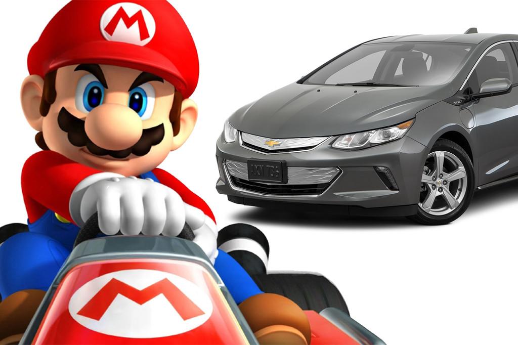 Mario Kart Chevrolet Volt