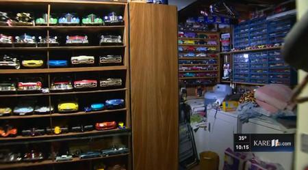 Un hombre de Minnesota dona su casa al morir y descubren dentro más de 30.000 coches a escala
