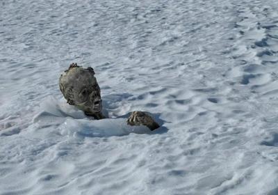 Se encuentran dos momias congeladas a 5.270 metros de altitud en México