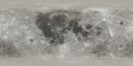 Nasa 3d Map Of The Moon Kit Cg Artists