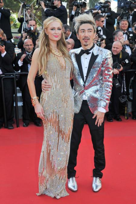 Paris Hilton Cannes 2015